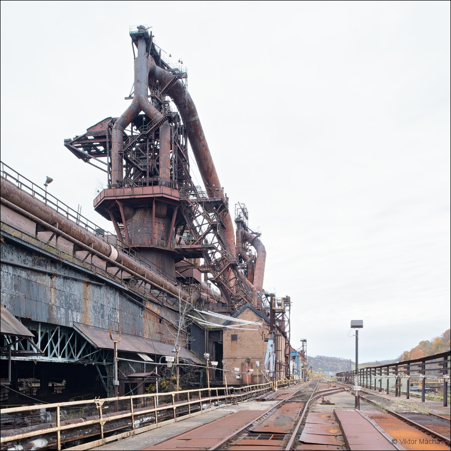 Weirton Steel, blast furnace no.2