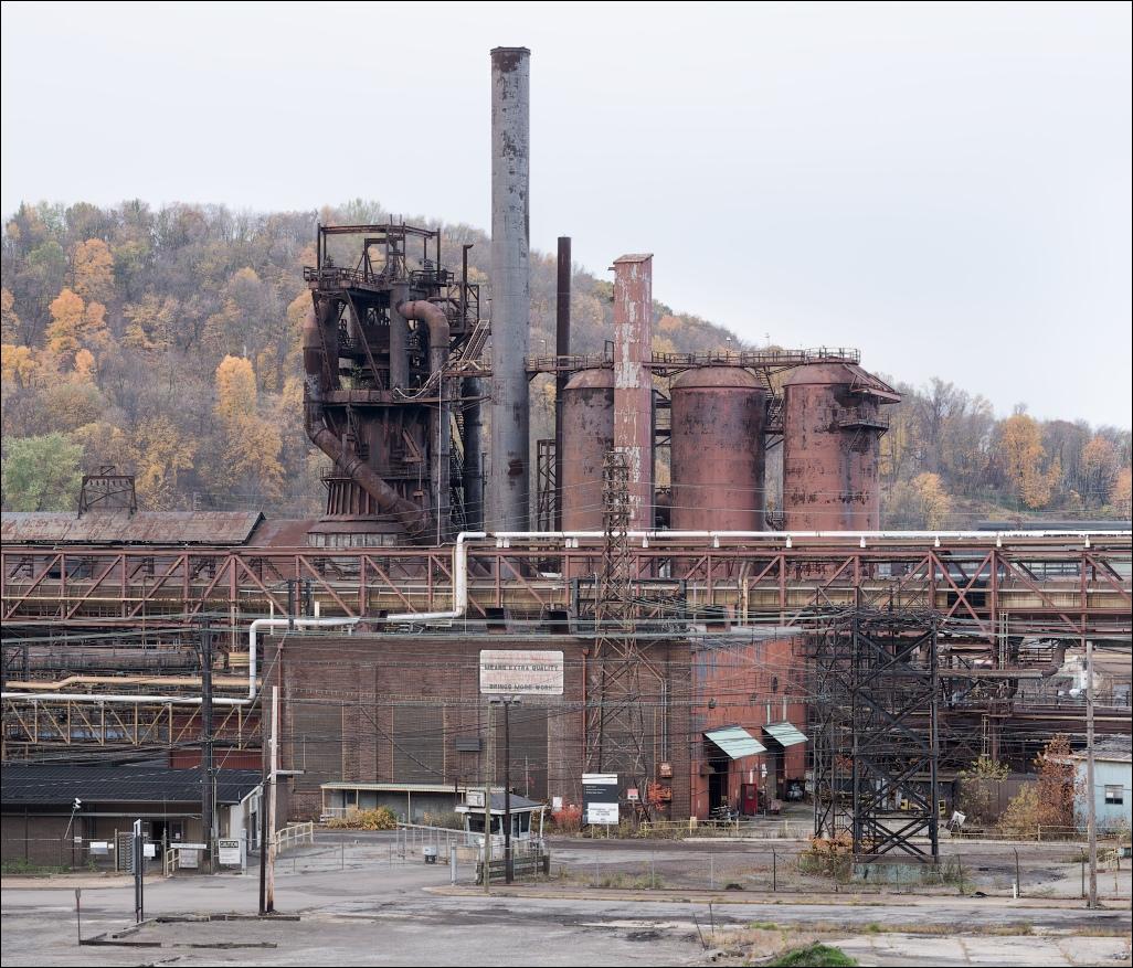 Weirton Steel, blast f...