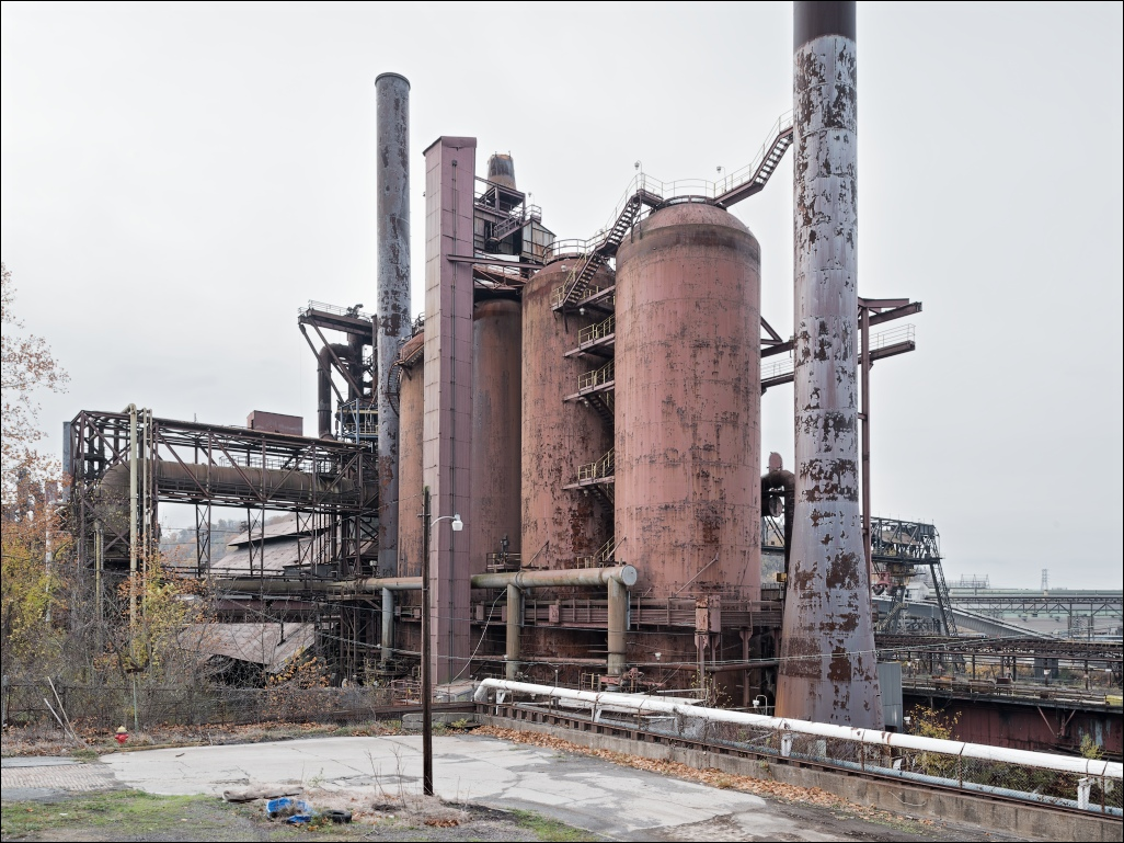 Weirton Steel, blast furnace no.4