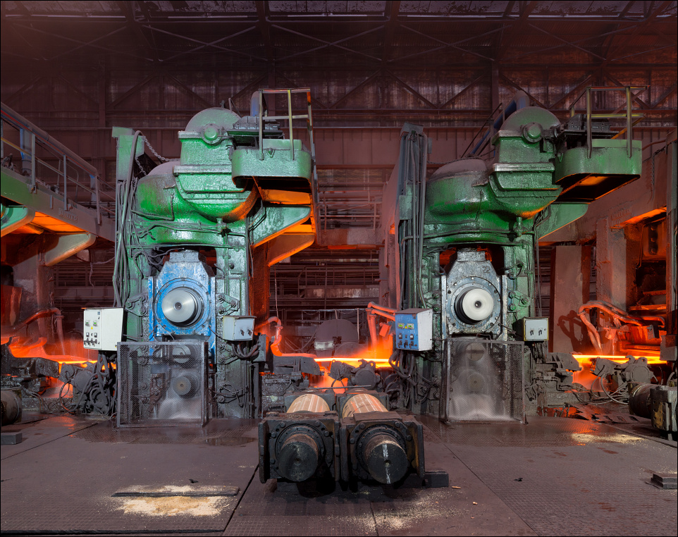 Zaporizhstal, finishing stands at the hot strip mill