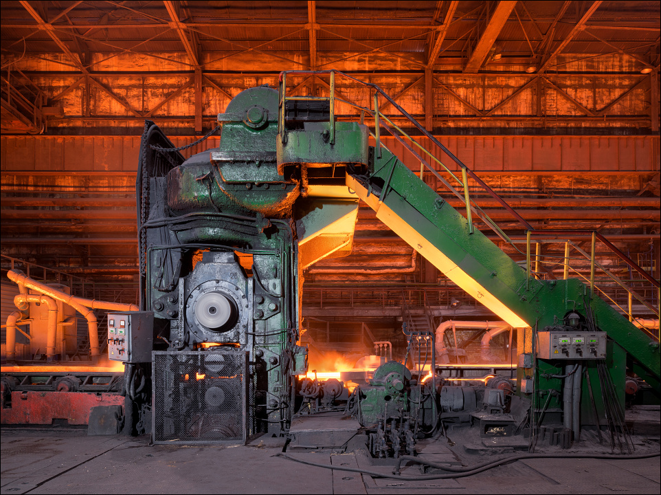 Zaporizhstal, roughing stand at the hot strip mill