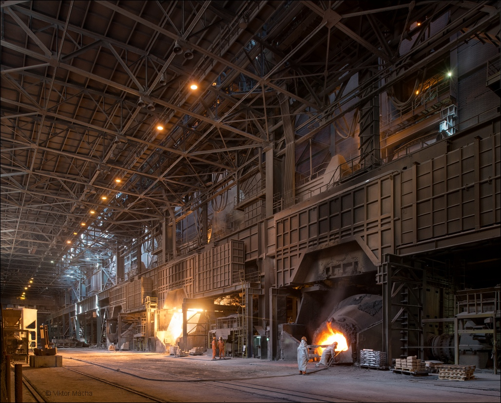 Železara Smederevo, in the steel mill