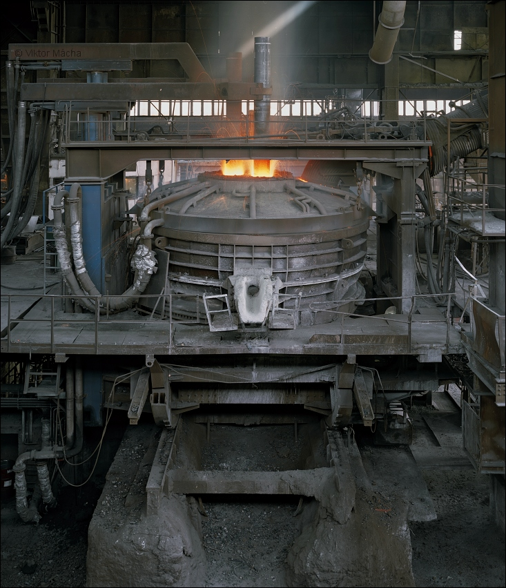 Železárny Hrádek, 40 t electric arc furnace