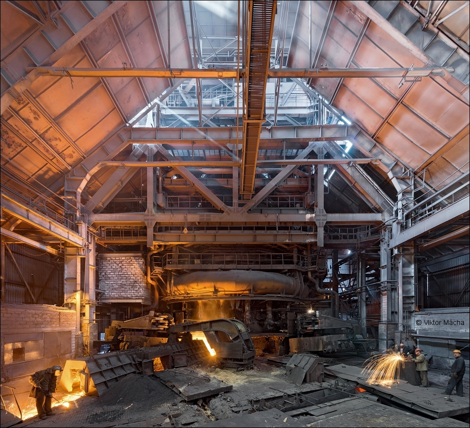 KMZ Tula, blast furnace no.1 cast house