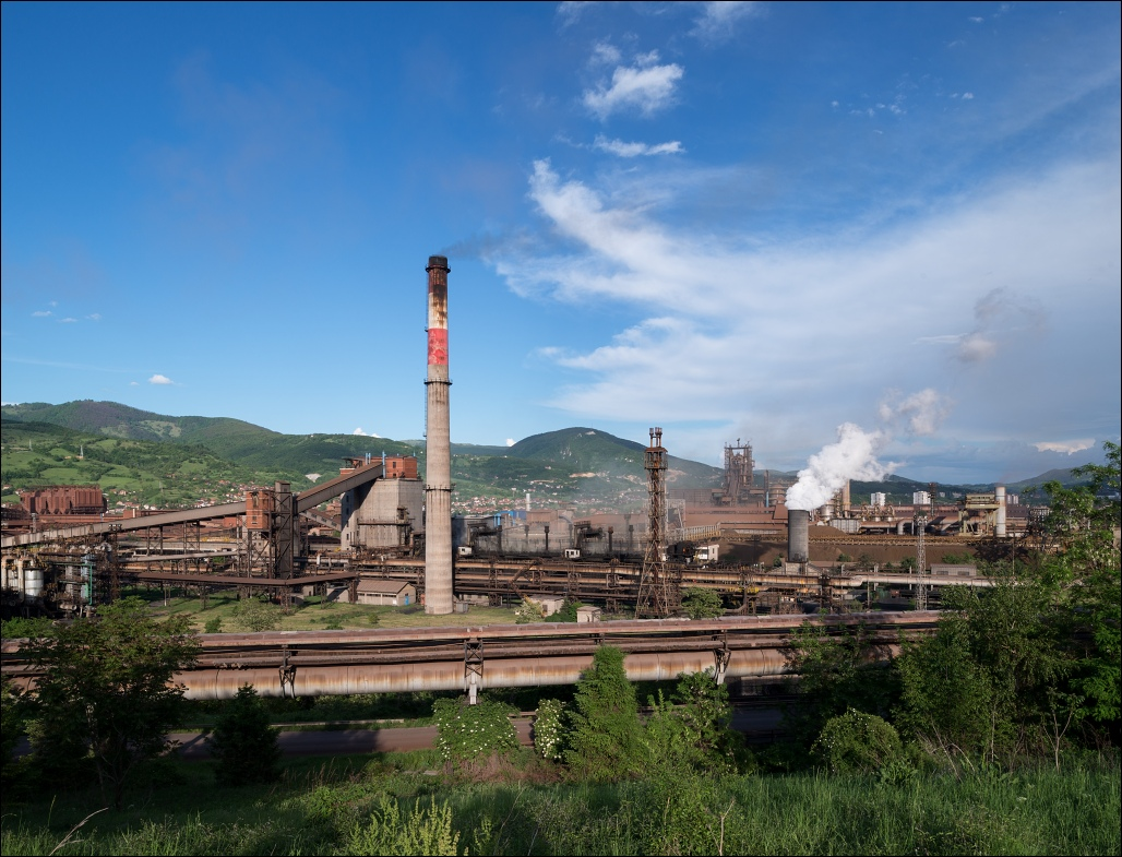 Željezara Zenica, the mountain steel mill