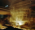 AM Ostrava, tapping the blast furnace no.4