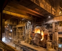 ArcelorMittal Cleveland, charging the 270 t...