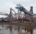 ArcelorMittal Cleveland, blast furnaces with...