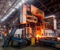 Beloretsk Metallurgical Plant, heating...