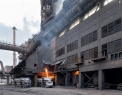 Evraz DMZ Petrovskogo, under the blast...