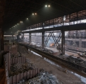 Industeel Charleroi, scrap yard
