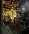 KD Foundry, induction furnace tapping