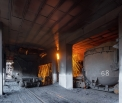 Mechel Chelyabinsk (ChMK), filling the iron...