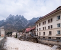 Miniera di Raibl, the mining town and Triglav