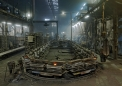 Nove Ransko foundry, automatic moulding line