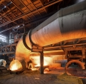 ThyssenKrupp Bruckhausen, work at the blast...