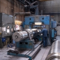 Union Electric Steel, roll machining