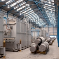 Union Electric Steel, heat treatment