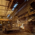 Vargön Alloys, tapping the furnace no. X