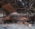 WCI Steel Warren, blast furnace casthouse...