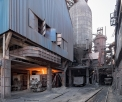 KMZ Tula, under the blast furnace
