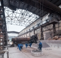 Pashiya ironworks, manual sorting