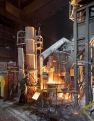 Serov metalurgical plant, laddle furnace